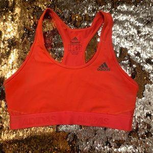 Adidas low impact sports bra (Bright Coral)
